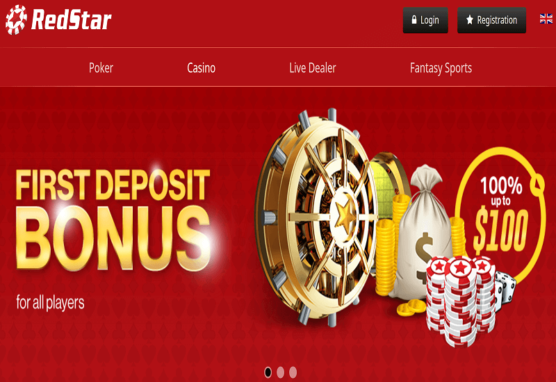 Red Star Casino Home Page