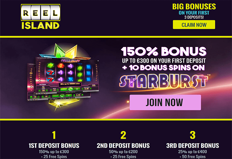 Reel Island Casino Registration