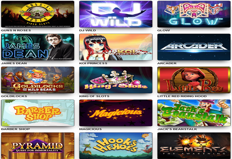 Reel Island Casino Games