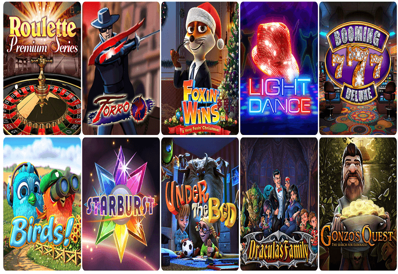 Ridika Casino Video Slots