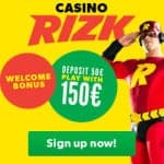 10 Free Spins - Exclusive No Deposit by Rizk