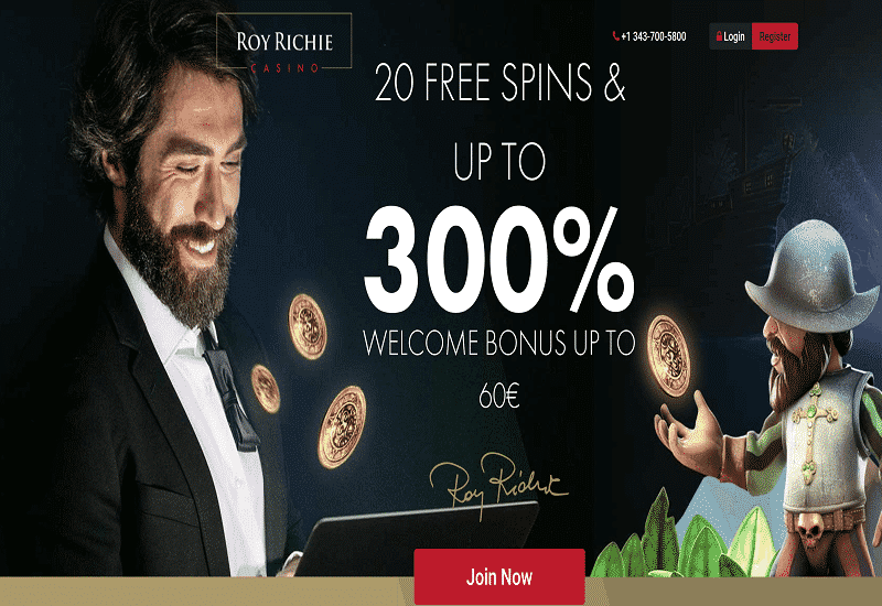 Roy Richie Casino Promotion