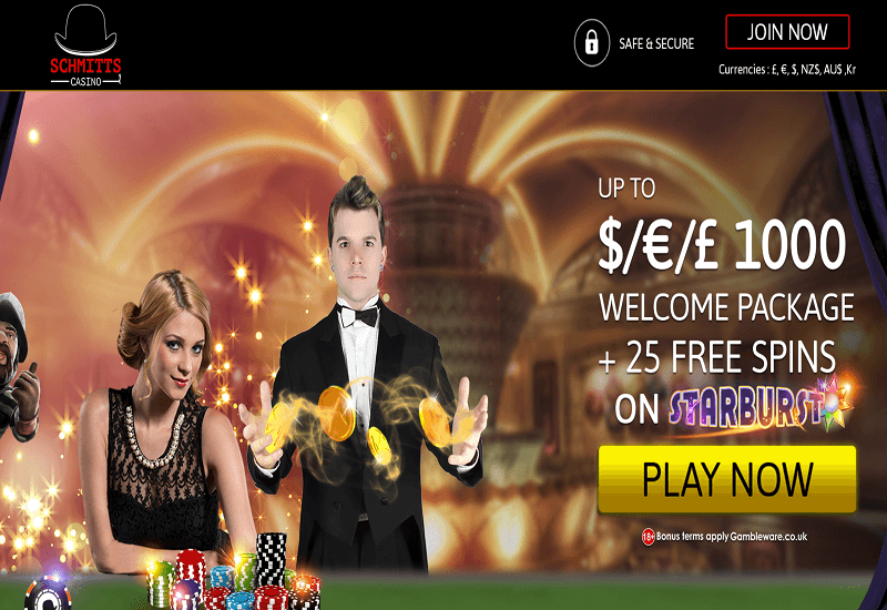 Schmitts Casino Promotion