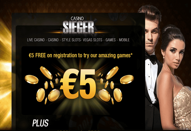 Sieger Casino Promotion