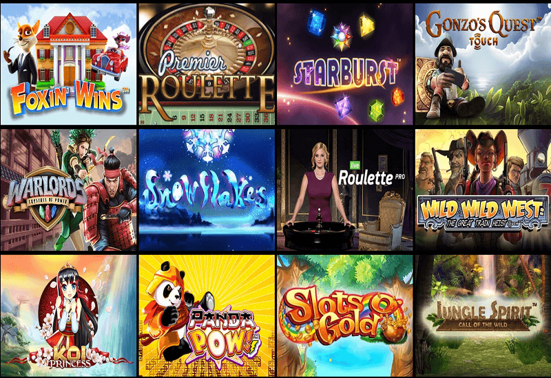 Silver Fox Casino Video Slots