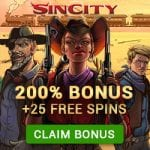 Exclusive Offer: 25 Free Spins from Sin City
