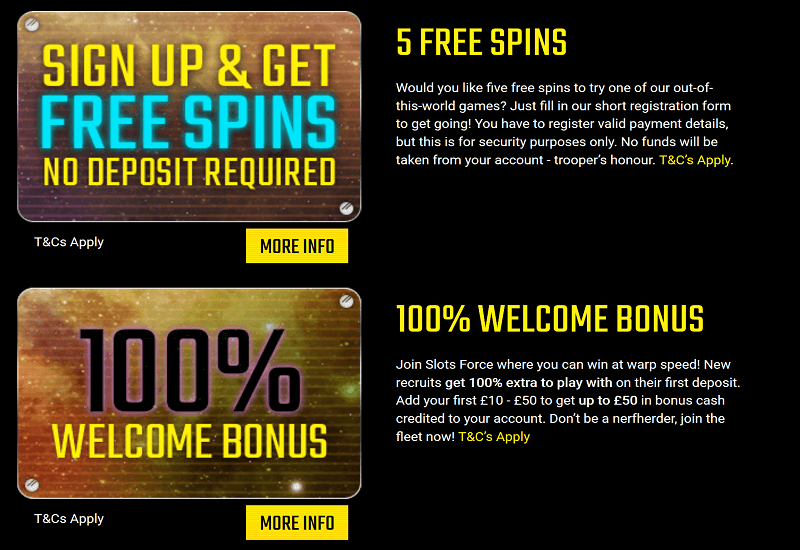 Slots Force Casino Promotion