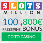 Slots Milion Casino Bonus And Review