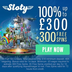 100% Up To £300