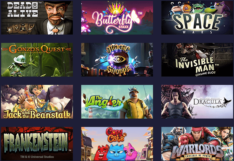 Space Casino Video Slots