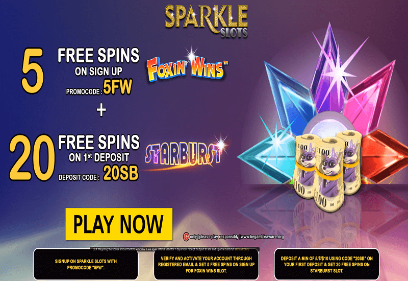 Sparkle Casino Promotion