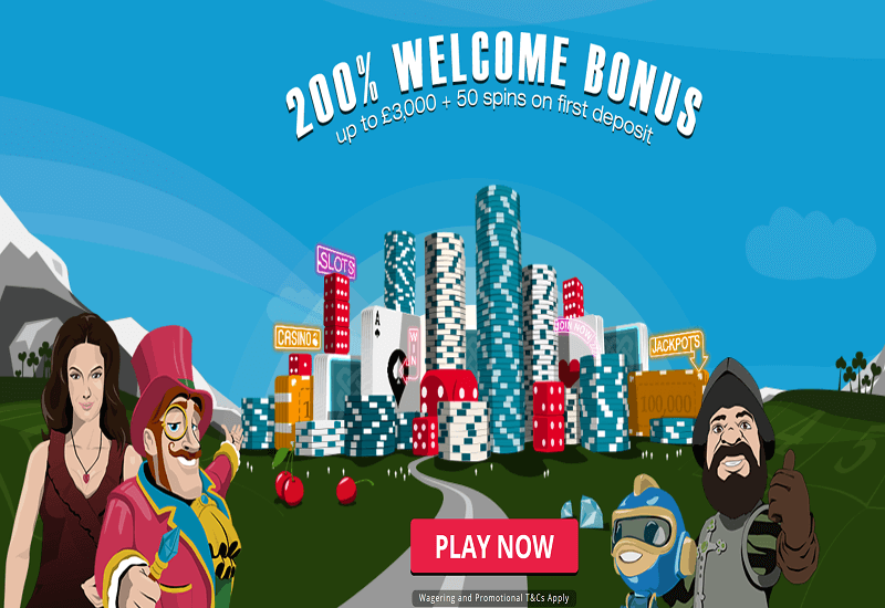Spinland Casino Home Page