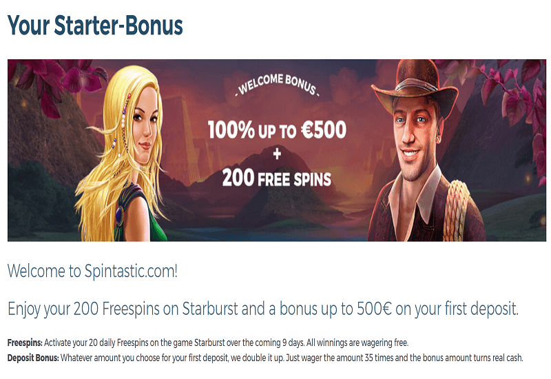 Spintastic Casino Promotion