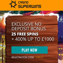 25 Free Spins ND