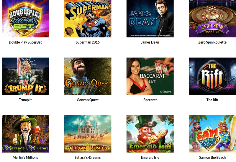 Superlines Casino Video Slots