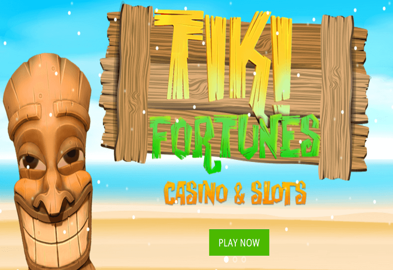 Tiki Fortune Casino Home Page
