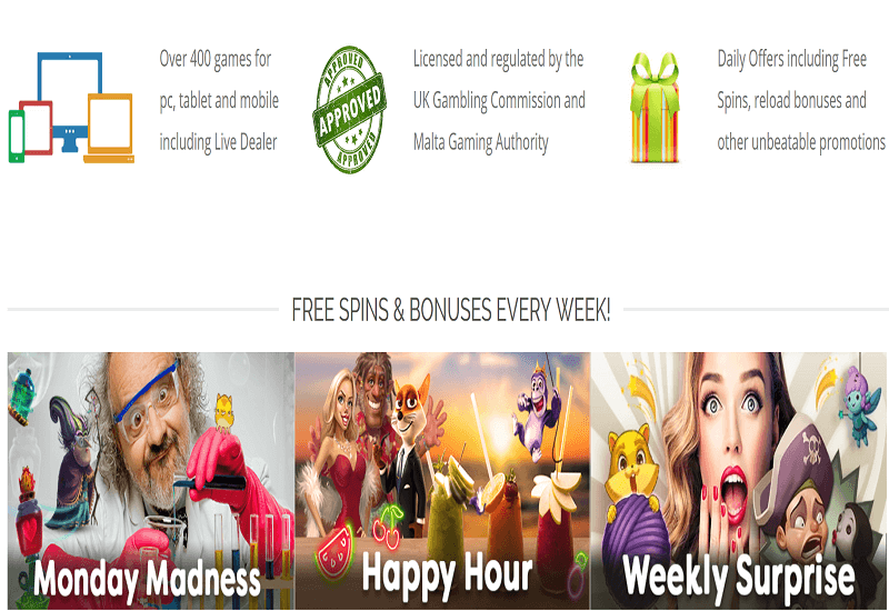 Tiki Fortune Casino Promotion