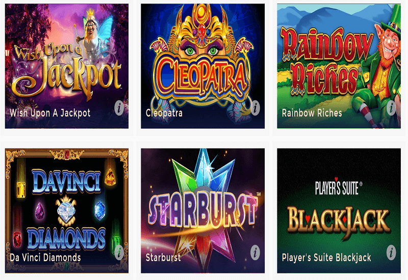UK Casino Video Slots
