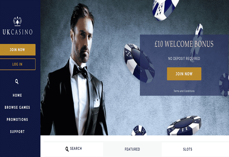 UK Casino Home Page