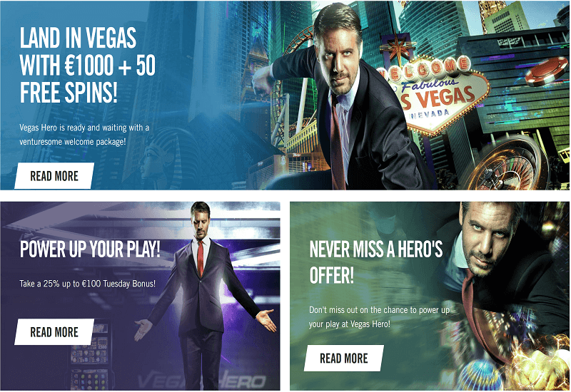 Vegas Hero Casino Promotion