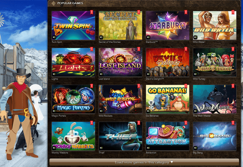 Wayne Casino Video Slots
