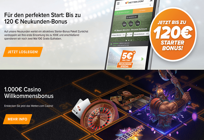 Wetten Casino Promotion