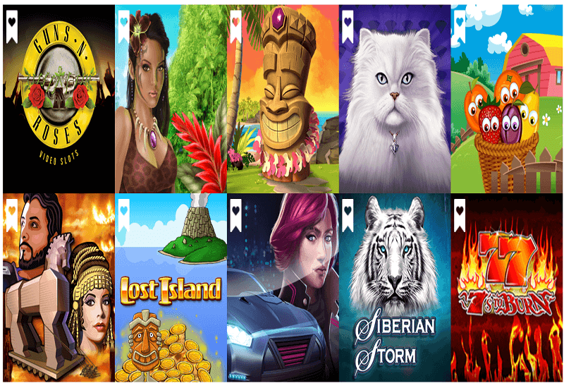 Wild Spins Casino Video Slots