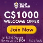 Wild Sultan Casino Bonus And  Review News
