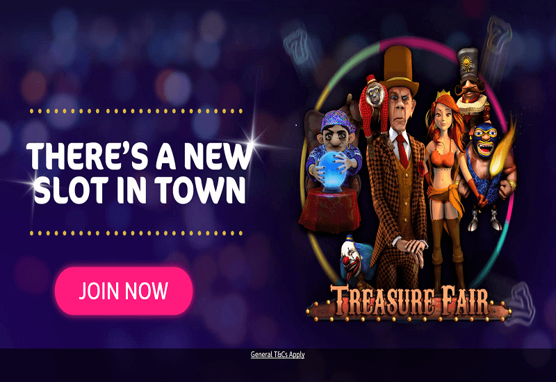 Wink Slots Casino Home Page