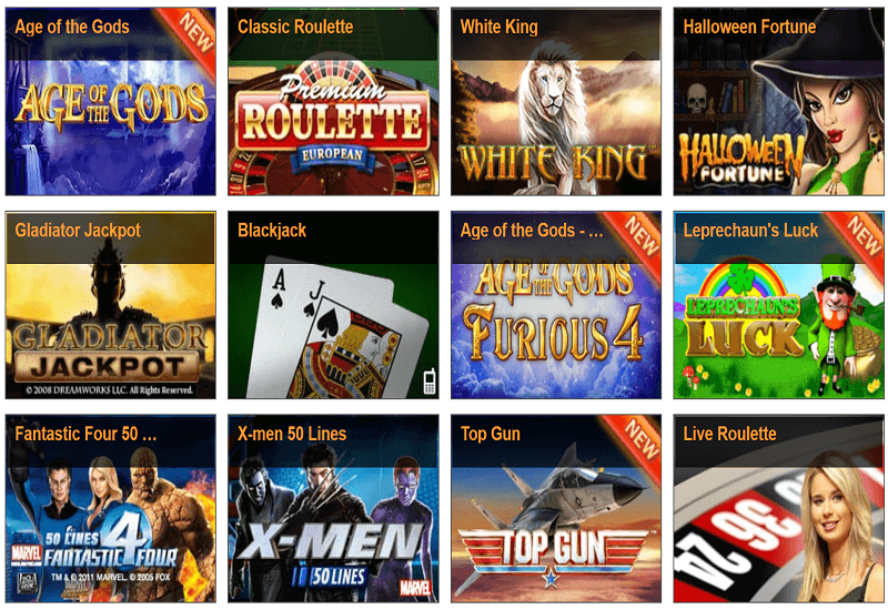 Winner Casino Video Slots