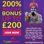Casino Wishes Bonus And  Review News