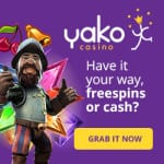 Yako Casino Bonus And Review