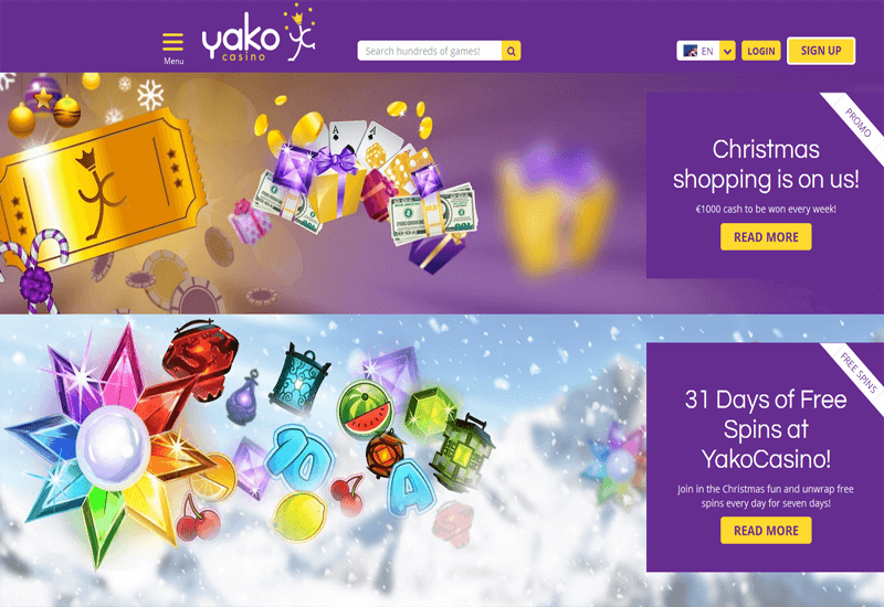 Yako Casino Promotions