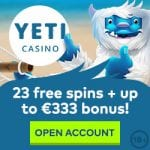 Yeti Casino Bonus And  Review News Promotions