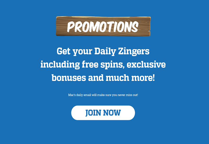 Zinger Spins Casino Promotion