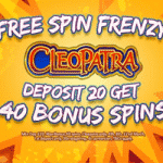 Deposit 20 – get 40 bonus spins from Arctic Spins