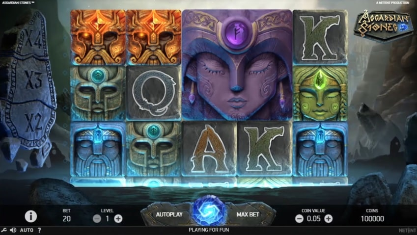 Asgardian Stones Video Slot - NetEnt