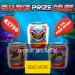 A Jammin Sharks Prize Draw at b-Bets casino