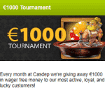 €1000 Tournament – April 2019 with CasDep