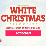 A White Christmas Promotion by CasinoLuck