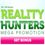 CasinoLuck Mega Promotion: Reality Hunters