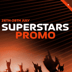 CasinoLuck's Superstars Promo: 26th - 28th July