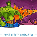 A Super Heroes Tournament at Casino-X