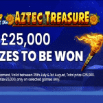 £25,000 in various prizes from Coin Falls