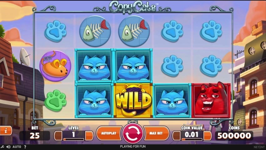 Copy Cats - Rizk Casino