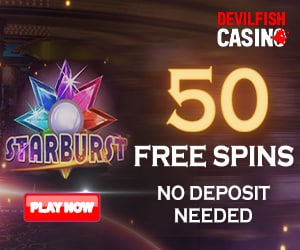 50 free spins no deposit required
