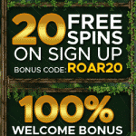 20 Free Spins + 100% Welcome Bonus