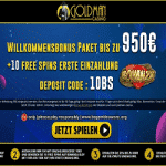Goldman Casino: €950 Bonus & 10 Free Spins