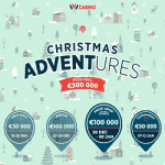 Christmas Adventures: €300,000 from IVI Casino