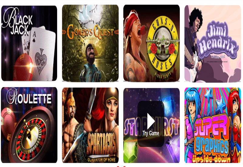 mRiches Casino Video Slots
